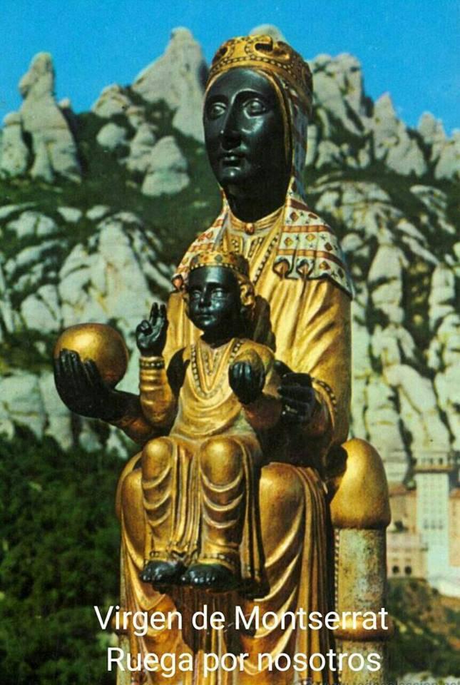 Oración alla Virgen de Montserrat para urgentes necesidades y problemas