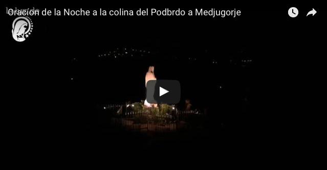 La Luz de Maria a a Medjugorje