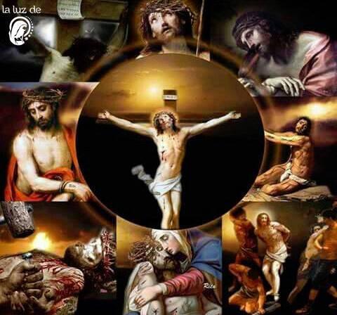 ORACIÓN DE LA PASIÓN de Jesús Cristo