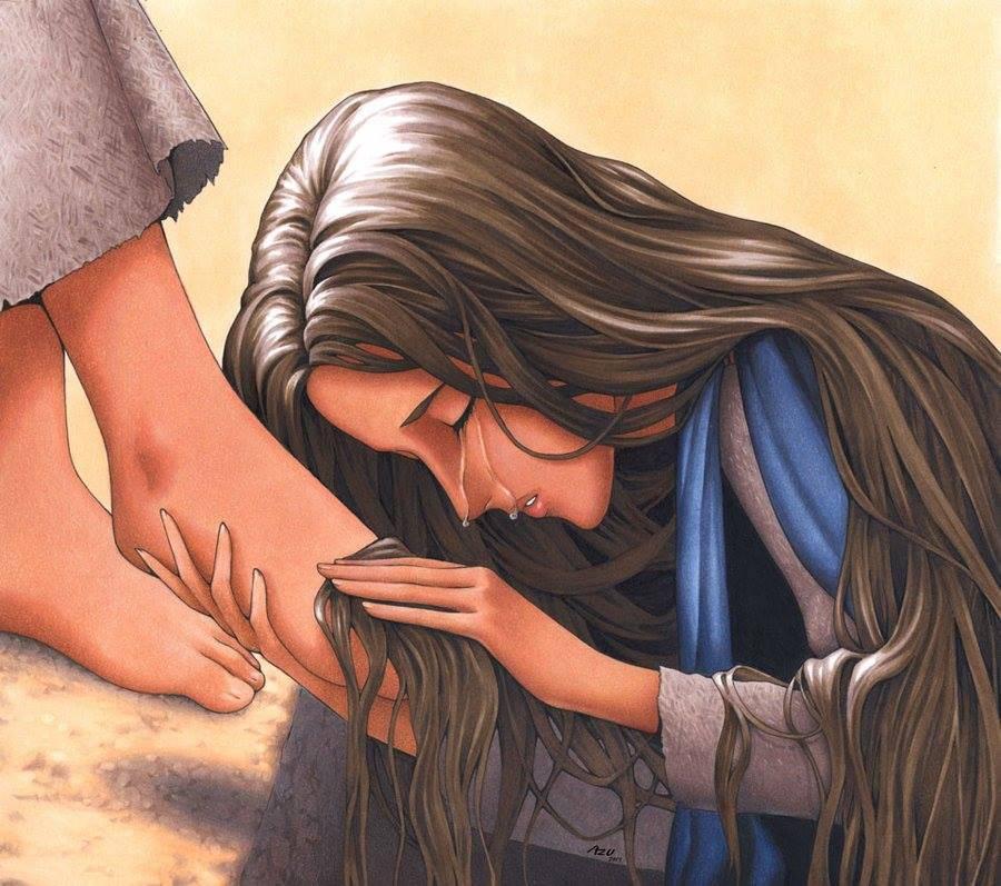 Evangelio del día según San Lucas 7,36-50.8,1-3.