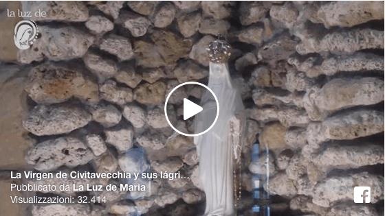 La Virgen de Civitavecchia y sus lágrimas de sangre. Virgen de las rosas y familia
