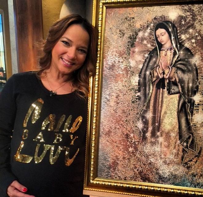 Adamari López y el milagro de su maternidad gracias a la Virgen de Guadalupe