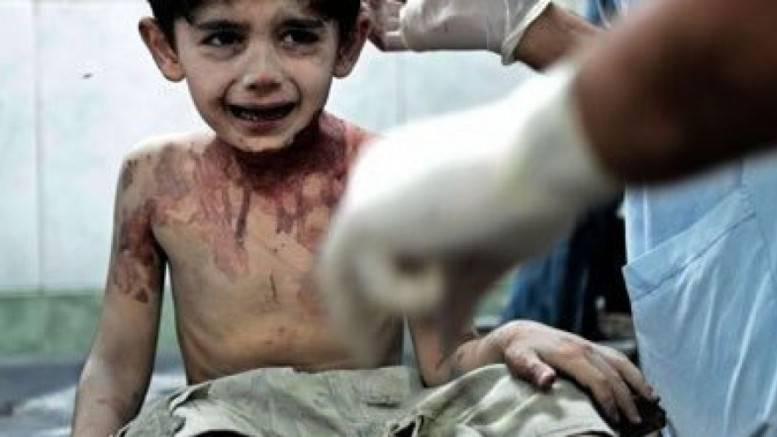 """""""Diré cosa me han hecho a Dios, le diré todo"""" las últimas palabras de un niño sirio"""