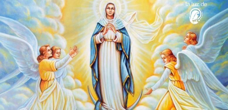 ORACION A MARIA REINA DE LOS ANGELES