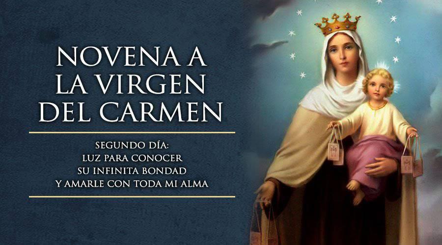 Novena a la Virgen del Carmen – Segundo día –