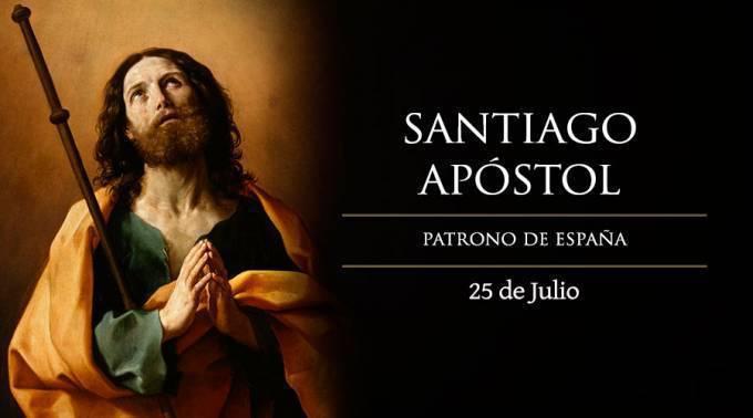 25 de Julio, Santiago Apóstol, patrono de España