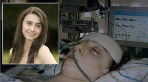 Una actriz de 15 años de Harry Potter fue salvada de la muerte por el agua bendita