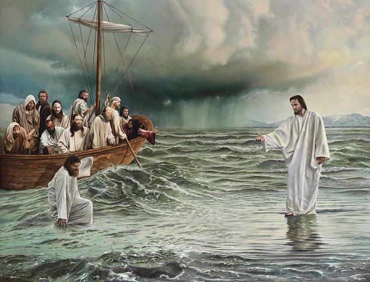 Evangelio del día según San Mateo 14,22-36.