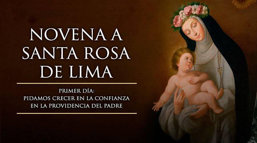 Novena a S.Rosa de Lima – Primer día –