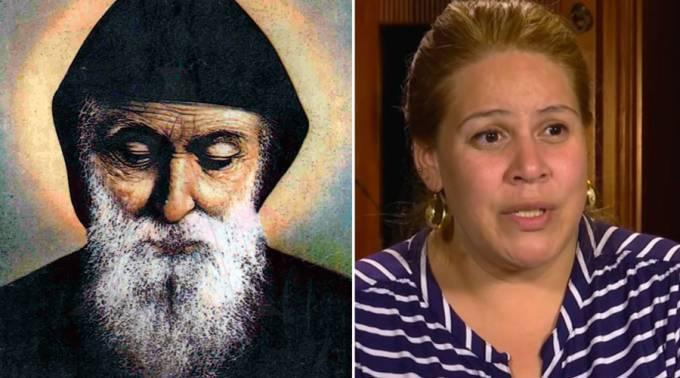 Mujer recibe un milagro de San Charbel y construye un santuario para agradecer