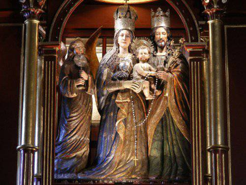 Aparición de la Virgen de la Peña de Bogotá,  10 de agosto