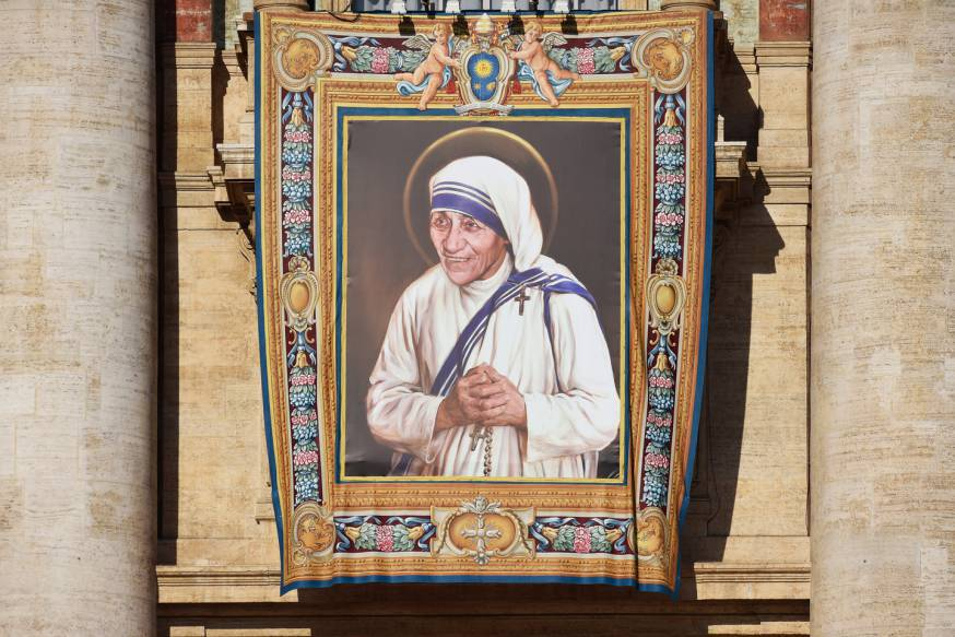 La sonrisa de Madre Teresa