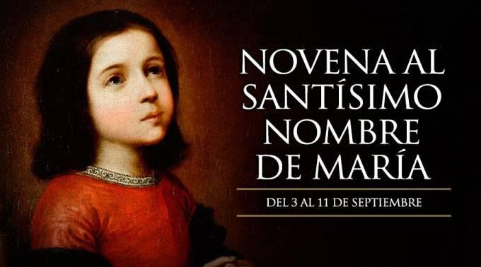 Novena al Santísimo Nombre de María – Primer día-