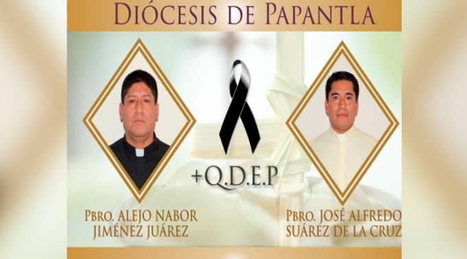 México :Secuestran y asesinan a 2 sacerdotes católicos