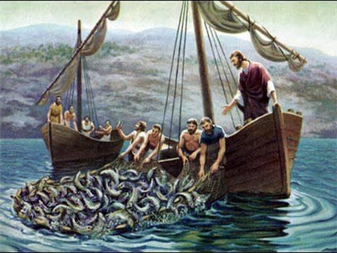 Evangelio según San Lucas 5,1-11.