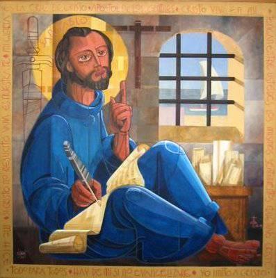 Primera lectura de hoy : Carta de San Pablo a los Efesios 4,1-6.