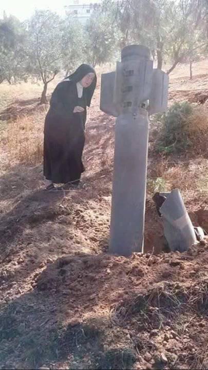 Misil cae en convento de religiosas de Alepo y no explota