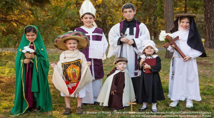 La Fiesta de todos los Santos con los más pequeños