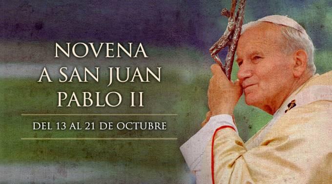 Novena a San Juan Pablo II – Primer día