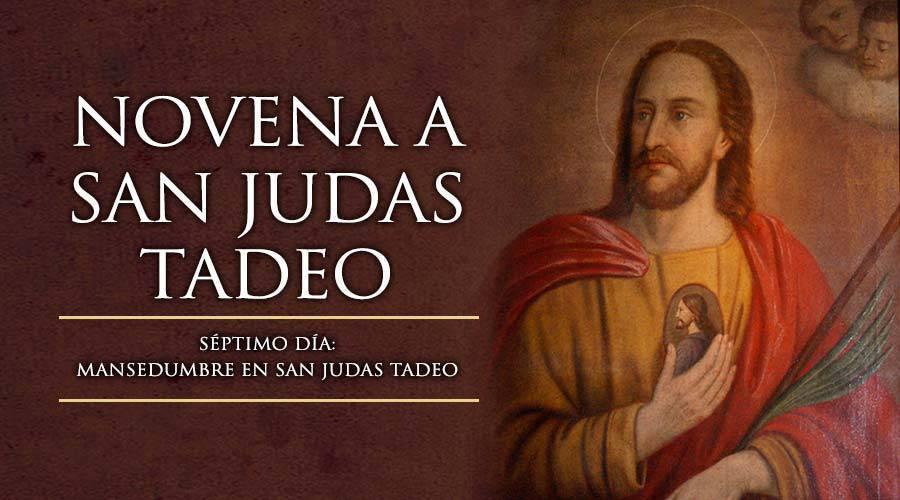 Novena a San Judas Tadeo -Séptimo Día-