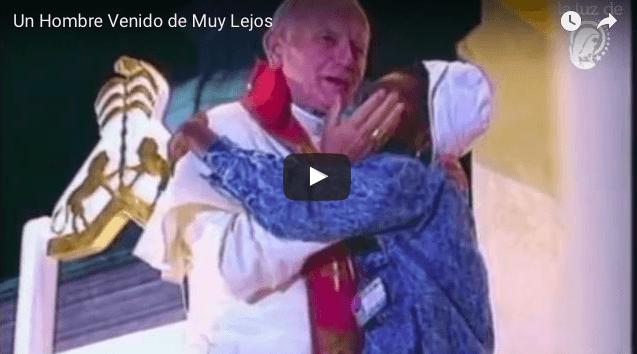 Un Hombre Venido de Muy Lejos – VIDEO CANCION –