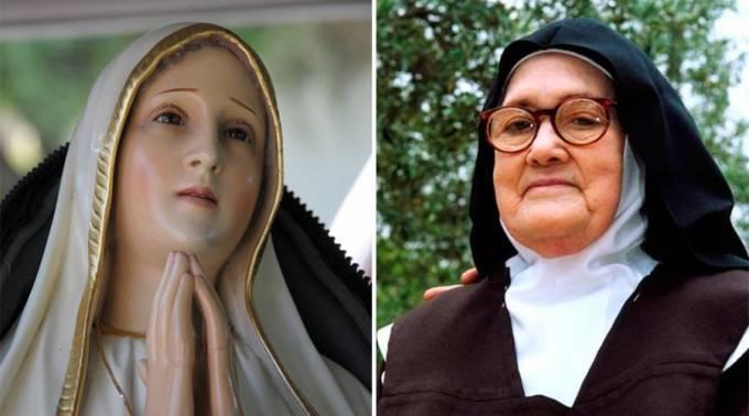 El Rosario es el arma de los últimos tiempos: Vidente de la Virgen de Fátima