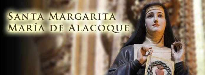 Santa Margarita Alacoque. Apóstol del Sagrado Corazón de Jesús
