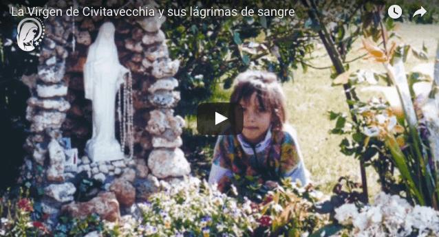 La Virgen de Civitavecchia y sus lágrimas de sangre