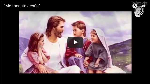 """""""Me tocaste Jesús"""" Me tocaste Jesús, y cerré mi puerta….Oracion"""