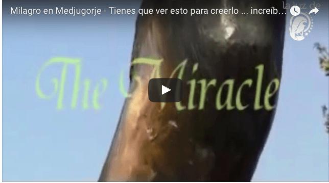 Milagro – Tienes que ver esto para creerlo … increíble !!!