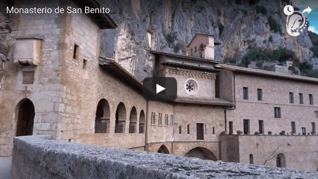 Monasterio de San Benito visitamos juntos a LA LUZ DE MARIA