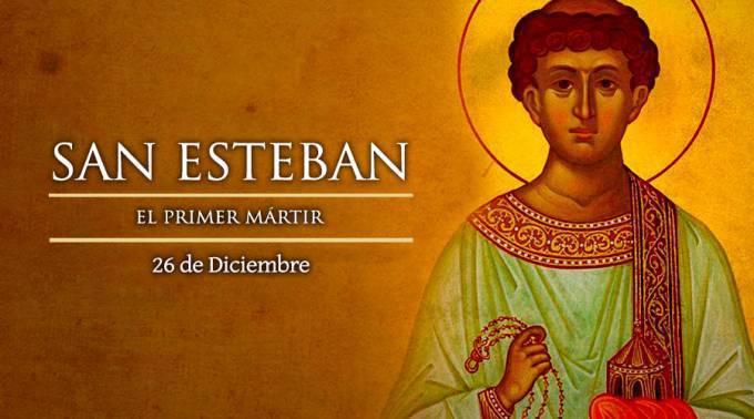 26 de Diciembre: San Esteban.