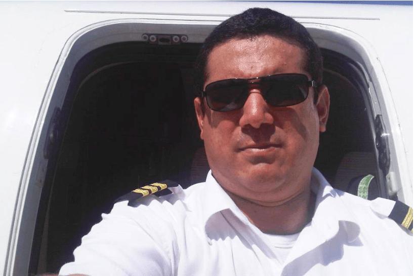 """""""Cristo está esperándote"""", el mensaje que dejó el piloto del avión accidentado"""