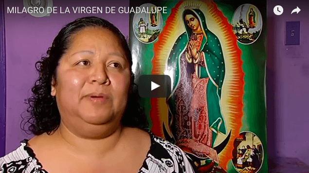 Embarazada con cáncer. Pero gracias a la Virgen de Guadalupe hoy es madre
