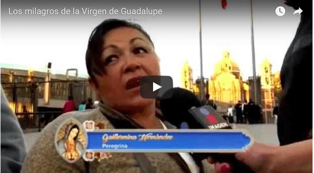 Los milagros de la Virgen de Guadalupe