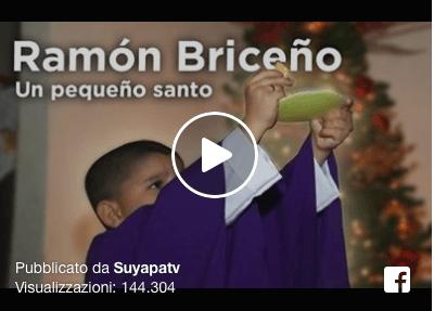 Increíble pero cierto, un niño de tan solo 7 años sueña con ser sacerdote.