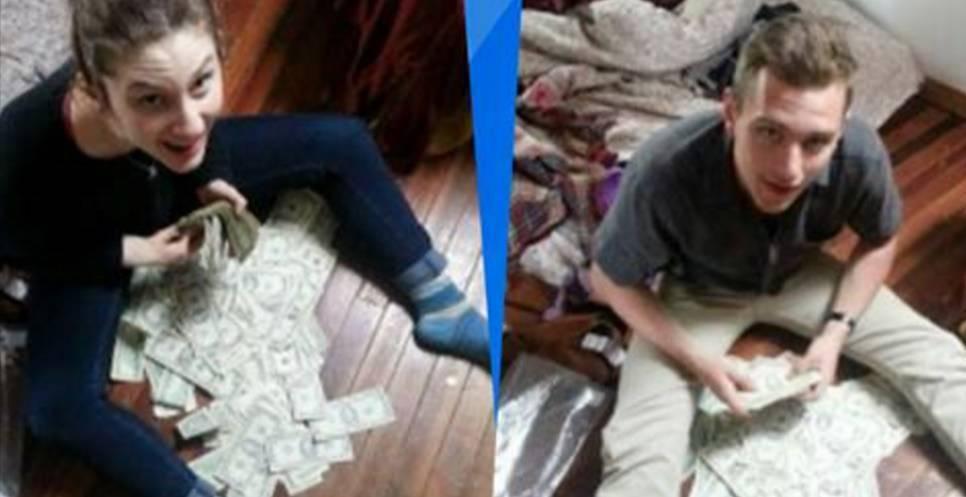 Encuentran 41 mil dólares escondidos en un sofá….