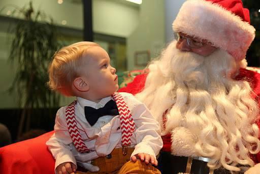 Santa Claus  y el niño que murió entre sus brazos
