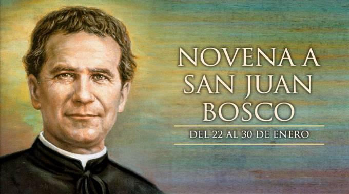 Hoy se inicia la Novena a San Juan Bosco, padre y maestro de la juventud