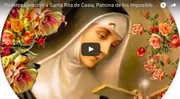 Poderosa oracion a Santa Rita de Casia, Patrona de los Imposibles y casos desesperados