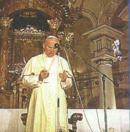 El amor de San Juan Pablo II a la Virgen de Chiquinquirá.