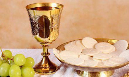 La Eucaristía, misterio de la Iglesia y bebida de salvación.