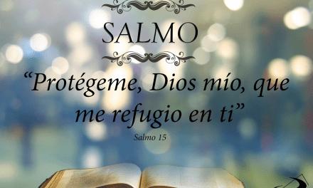 Salmo de hoy (lunes, 17 de abril de 2017)