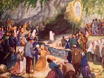 Bernadette Soubirous y las apariciones de Lourdes