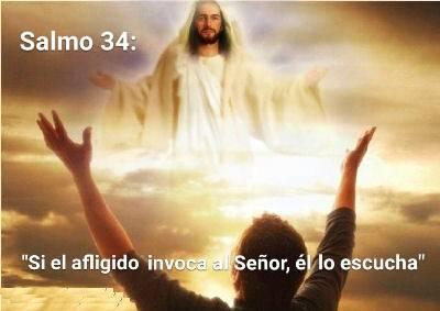 Si el afligido invoca al Señor, él lo escucha