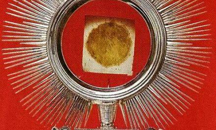 El Milagro Eucarístico ocurrido en el Santuario de Santa Rita de Casia