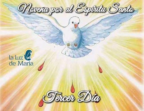 Novena por la Unción del Espíritu Santo (Tercer Día)