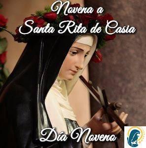 Novena a Santa Rita de Casia (día noveno)