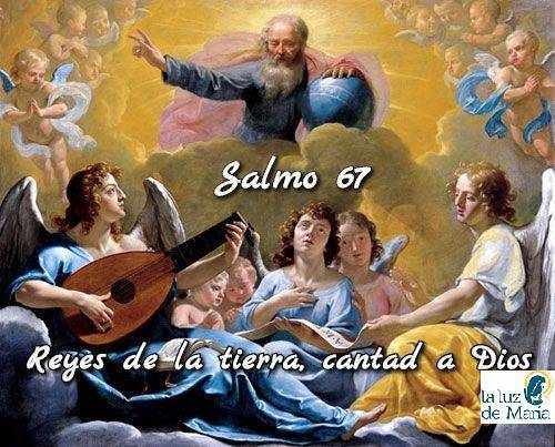 Reyes de la tierra, cantad a Dios