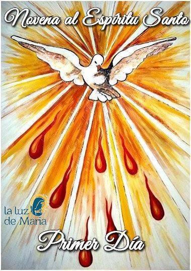 Novena por la Unción del Espíritu Santo (Primer Día)